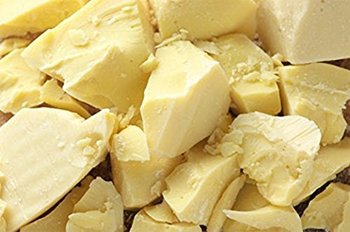 1 Lb Ecuadorian Cocoa (Cacao) Butter – Pure, Raw and Unprocessed – Use for Lotion, Cream, Lip Balm, Oil Stick or Body Butter – NON-GMO, Vegan and Halal
