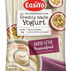 Easiyo Greek & Passionfruit Premium Yoghurt Mix 230g