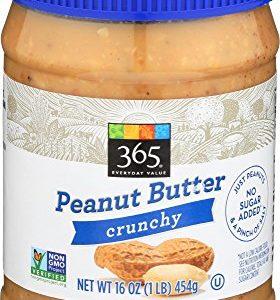 365 Everyday Value, Peanut Butter Crunchy, 16 oz