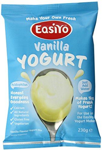 EasiYo Yogurt Mix, Vanilla, 8 Count