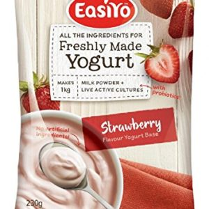 Easiyo Sweet Strawberry Yogurt Base and Culture, 8-1/2-Ounce