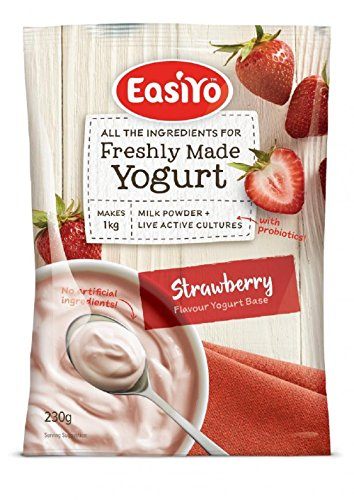 Easiyo Sweet Strawberry Yogurt Base and Culture, 8-1/2-Ounce