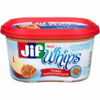 Jif, Whips, Whipped Creamy Peanut Butter, 15oz Tub