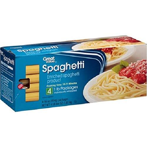 Great Value Spaghetti, 1 lb
