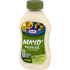 Kraft Mayo with Olive Oil Reduced Fat Mayonnaise, 12-Ounce Squeeze Bottle(Pack of 6) by Kraft