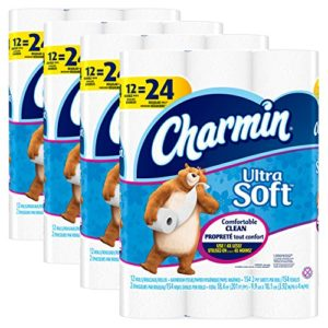 Charmin Ultra Soft Toilet Paper, Bath Tissue, Double Roll, 48 Count