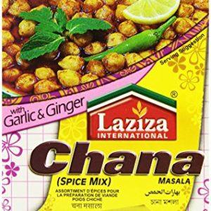 Laziza Chana Masala, 100-Gram Boxes (Pack of 6)