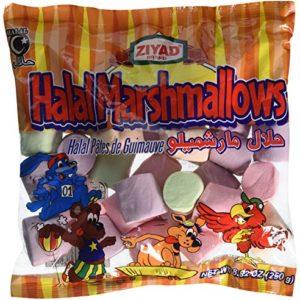 Ziyad Halal Marshmallows, Fruit, 8.82 Ounce