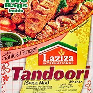 Laziza Tandoori Bbq Masala, 100-Gram Boxes (Pack of 6)