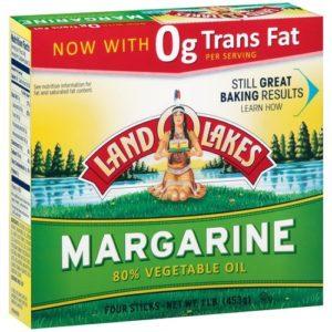 LAND O LAKES MARGARINE QUARTERS 16 OZ PACK OF 3