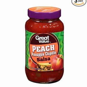 Great Value Peach Pineapple Chipotle Salsa 24 oz