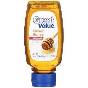 Great Value: Clover Honey, 16 Oz