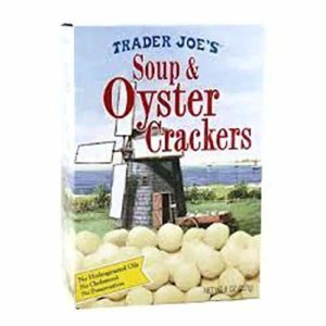 Trader Joe's Soup and Oyster Crackers, 8oz