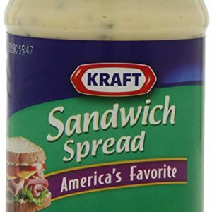 Kraft Sandwich Spread, 15-Ounce Jars