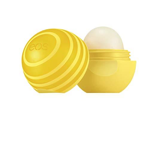 eos Active Lip Balm Sphere - Lemon Twist   SPF 15 and Water Resistant   0.25 oz
