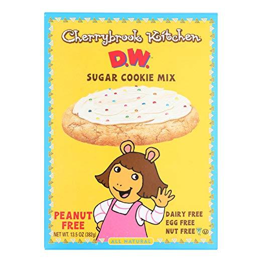 Cherrybrook Kitchen D.W. Sugar Cookie Mix -- 13.5 oz