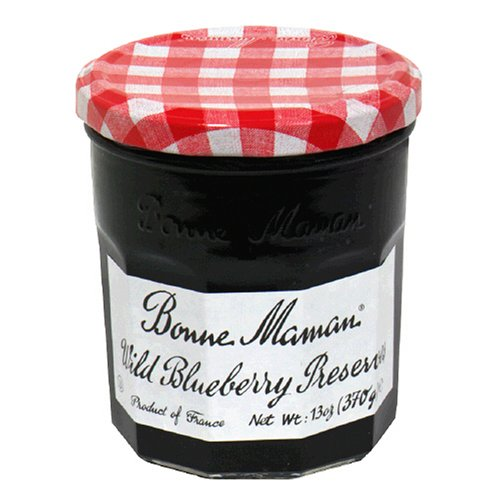 Bonne Maman Wild Blueberry Preserves, 13-Ounce Jars