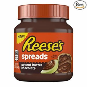 REESE'S Spreads, Peanut Butter Chocolate, Gluten-Free 13 Ounce