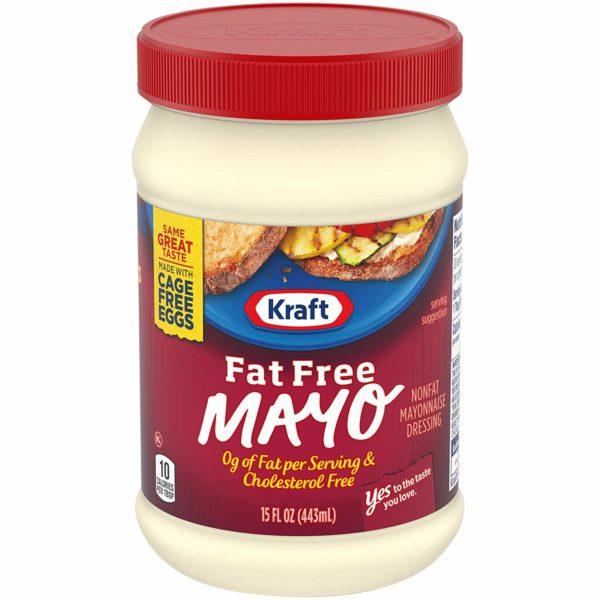 Kraft Fat Free Mayonnaise (15 oz Jar)