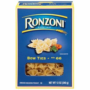 Ronzoni Bow Ties, 12 oz (Pack of 12)