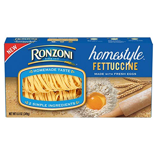 Ronzoni Homestyle Fettuccine, 8.8 oz (Pack of 9)