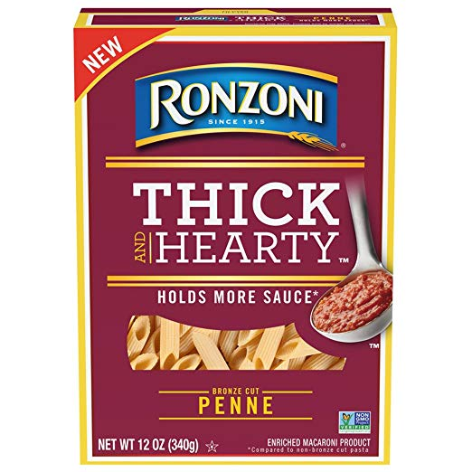 Ronzoni Thick n Hearty Penne, 12 oz