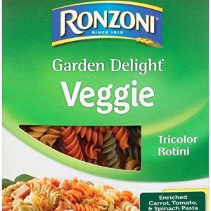 Ronzoni Garden Delight Rotini, 12 oz (Pack of 12)