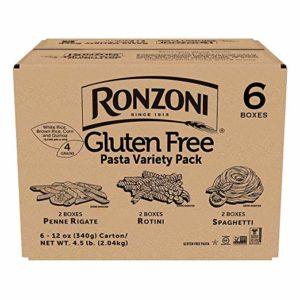 Ronzoni Gluten Free Pasta Variety Pack, 12oz, 6-Pack