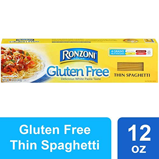 Ronzoni Gluten Free Thin Spaghetti, 12-Ounce