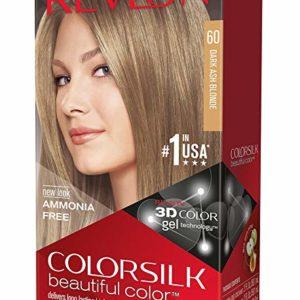 Revlon Colorsilk Haircolor, Dark Ash Blonde, 10 Ounces (Pack of 3)