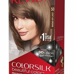 Revlon ColorSilk Haircolor, Light Ash Brown (pack of 3)