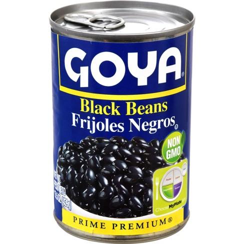 Goya Black Beans Premium 15.5 OZ