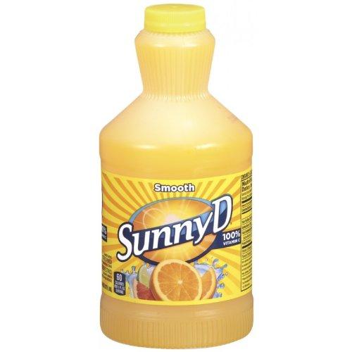 SUNNY D SMOOTH ORIGINAL ORANGE CITRUS PUNCH DRINK 64 OZ