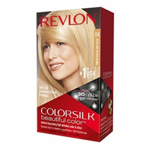 Revlon ColorSilk Beautiful Permanent Color, [04] Ultra Light Natural Blonde 1 ea (Pack of 3)