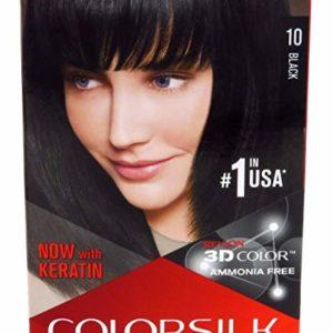 Revlon Colorsilk #10 Black  (6 Pack)