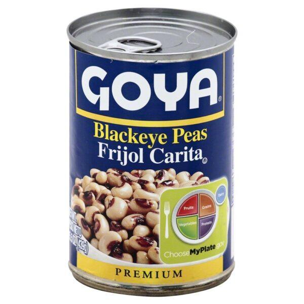 Goya Canned Black Eyed Peas, 15.5 Ounce