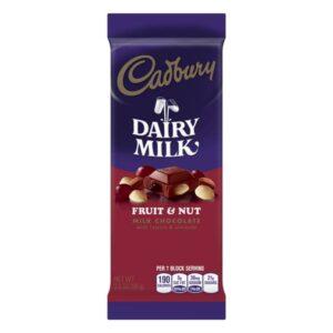 Cadbury Fruit and Nut 100g (3.5oz)