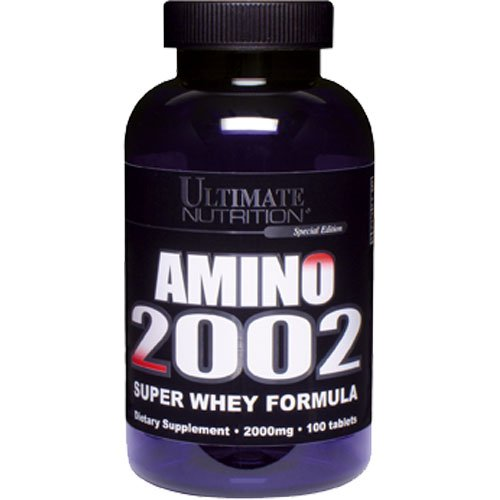 Ultimate Nutrition Amino 2002 Premium Whey Isolate Formula (100 Tablets)