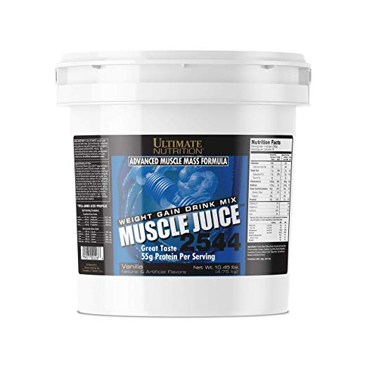Ultimate Nutrition Muscle Juice 2544 Classic Gainer Protein (Vanilla, 10 Pounds)