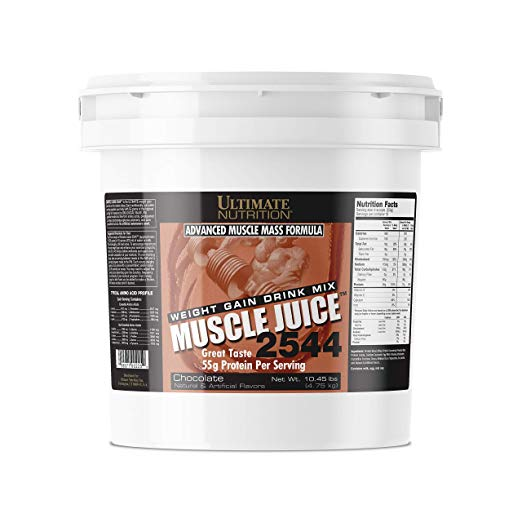 Ultimate Nutrition Muscle Juice 2544 Classic Gainer Protein (Chocolate, 10 Pounds)