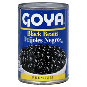 Goya Foods Organic Black Beans, 15.5 Ounce (Pack of 24)