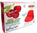 Ahmed Instant Set Cherry Jelly Crystals (Halal) - 2.99oz