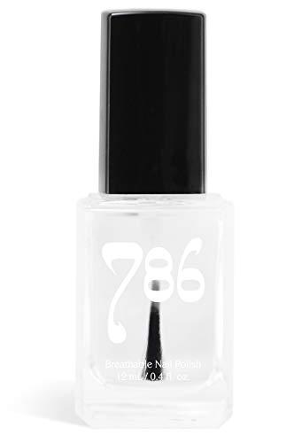 786 Cosmetics Top Coat Clear - (Shine) Vegan Nail Polish, Cruelty-Free, 11-Free, Halal Nail Polish, Fast-Drying Nail Polish, Best Top Coat Nail Polish