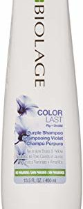 BIOLAGE ColorLast Purple Shampoo with Fig and Orchid for Neutralizing Brass & Yellow, 13.5 fl. oz.