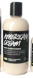 Lush Cosmetics American Cream Hair Conditioner, 8.4 Ounces