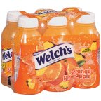 Welch's Juice Drink Orange Pineapple 6 PK (Pack of 8)
