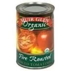Muir Glen Organic Diced Fire Roasted Tomato No Salt ( 12x14.5 OZ)