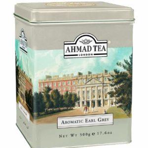 Ahmad Tea Earl Grey Aromatic Loose Tea, Ceylon Caddy, 17.6 Ounce