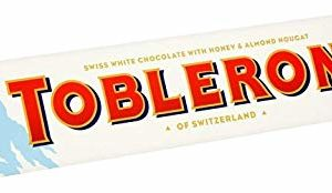 Toblerone White Large Bar Chocolate, 360 g