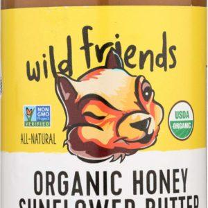 Wild Friends Organic Sunflower Butter Honey